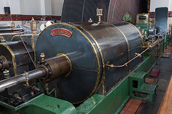 Ellenroad Engine House Museum is home to some of the worlds largest working steam mill engines.