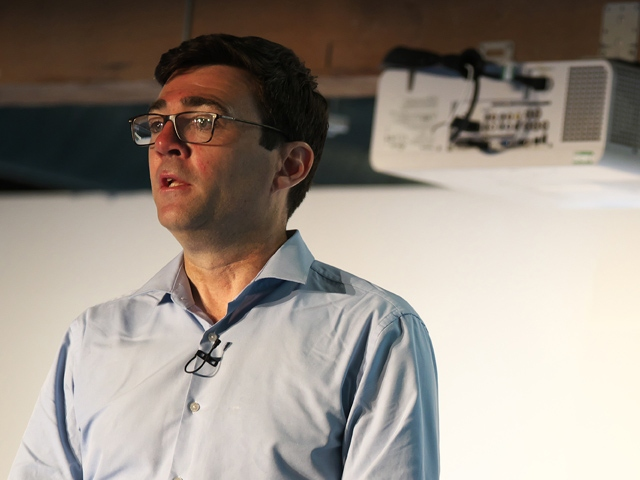 Greater Manchester's Mayor Andy Burnham