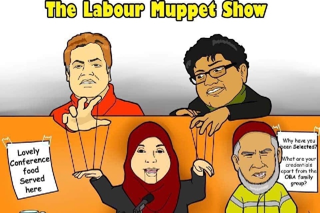 The Labour Muppet Show Poster