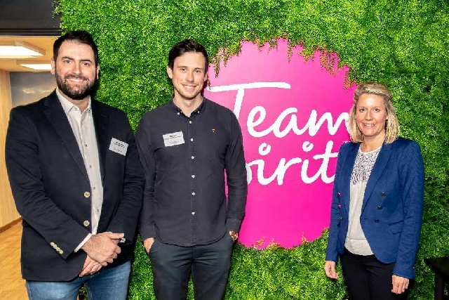 Professional Oldham event held at Team Spirit