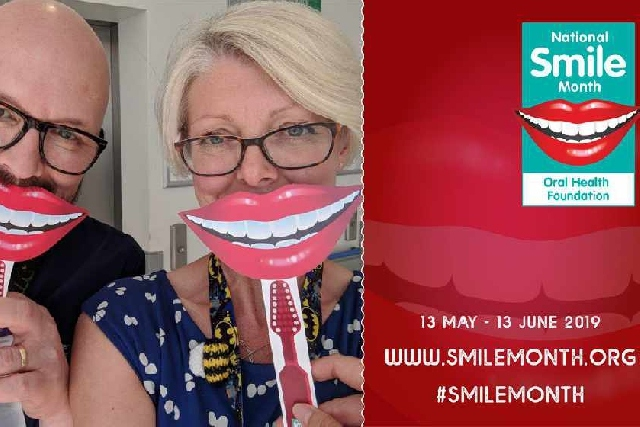 National smile month runs between 13th May and 13th June