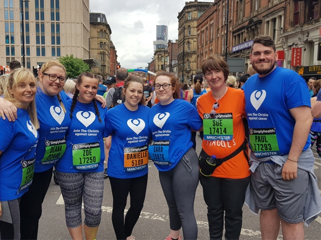 Werneth Primary School at the Manchester 10K
