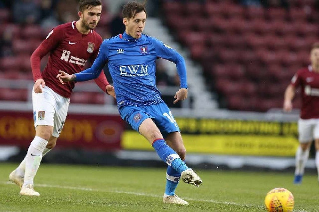 Jamie Devitt scored 11 goals for Carlisle United last season
