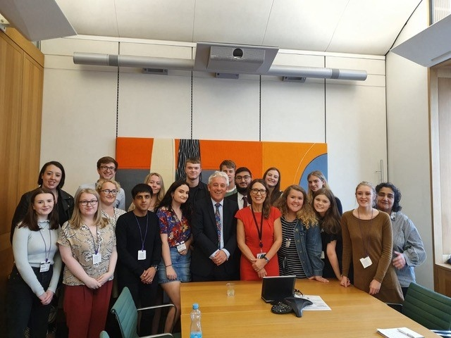 Mr Speaker keeps Oldham MP's summer school participants in order