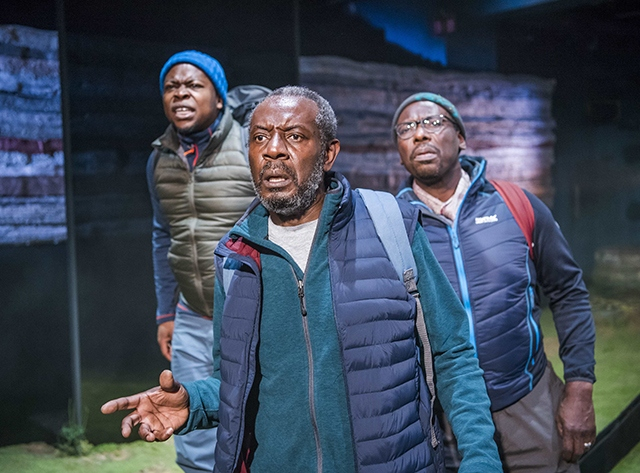 'Black Men Walking' has been described as 'linguistically dazzling…important, political and poignant'