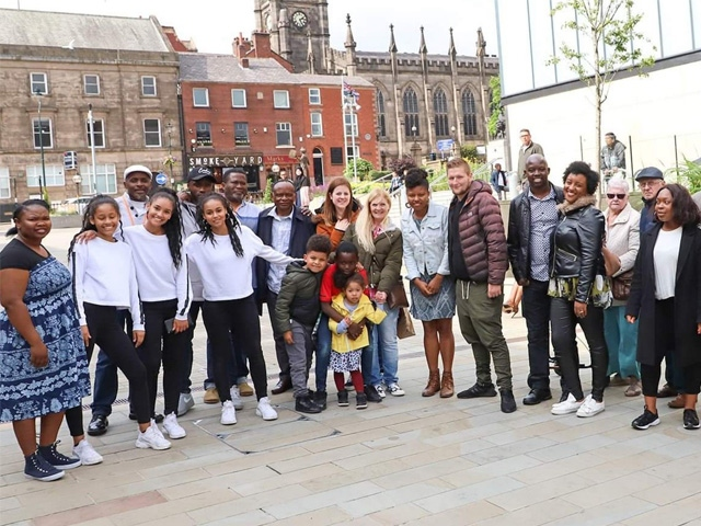 Gospel Rock in Oldham town centre