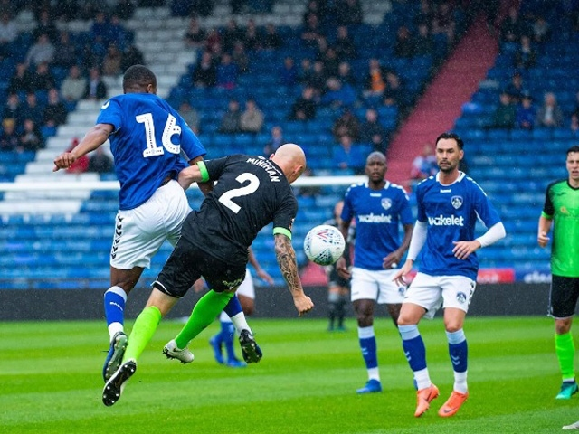 Oldham fell to a 2-0 defeat on Saturday.