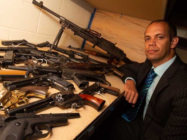 200 firearms were handed in during the GMP firearms surrender
