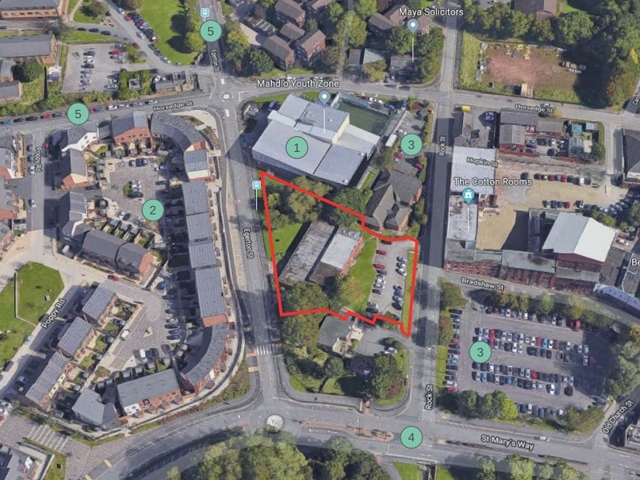 Oldham town centre to get a huge new climbing centre
