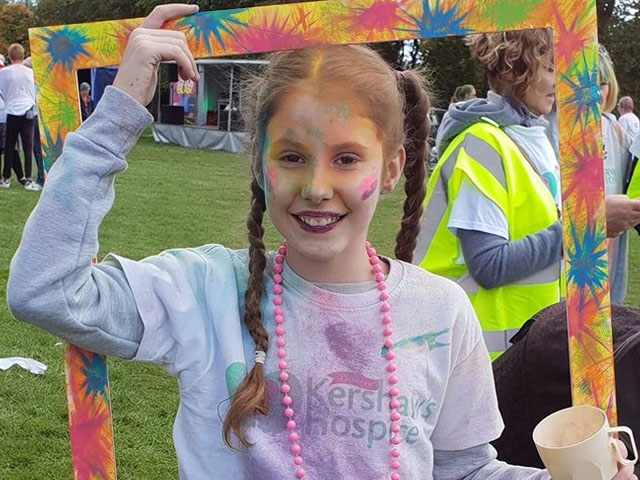 Fundraisers take Alexandra Park for Dr Kershaw's Colour Blast
