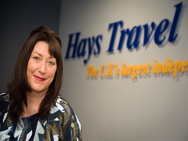 Lindsey Barber Retail Sales Director Hays Travel North West