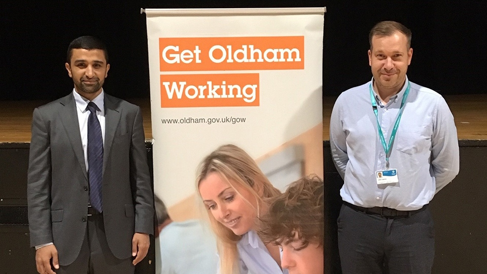 The Get Oldham Working Team