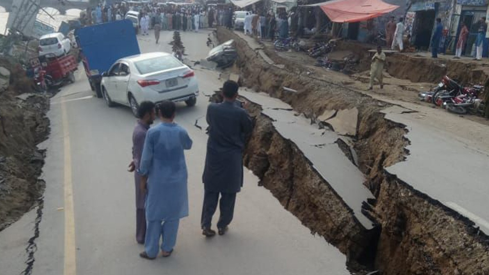 Local MP reacts to earthquake in Azad Kashmir