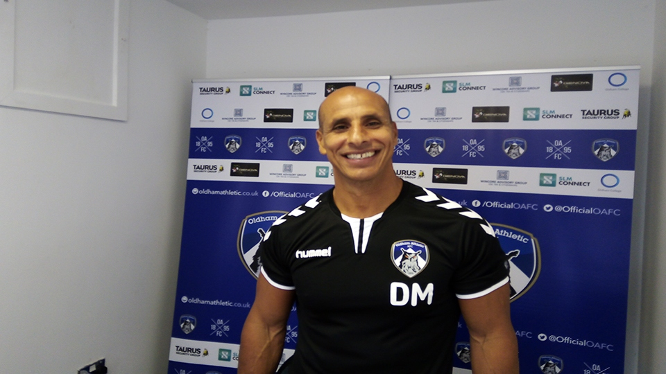 Oldham Athletic new manager - Dino Maamria