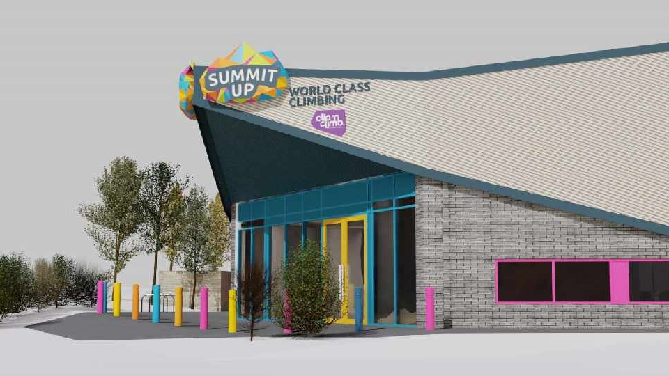 How the brand new Summit Up centre will look