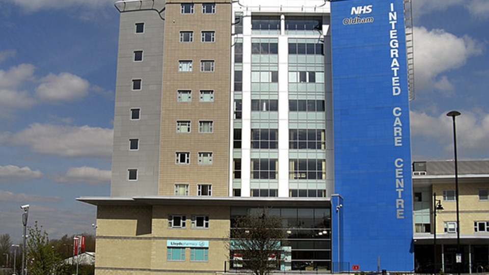 Oldham NHS centre