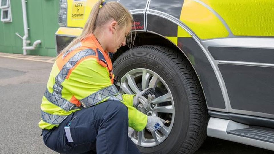 Drivers are being urged to check their tyres before heading out onto the roads again