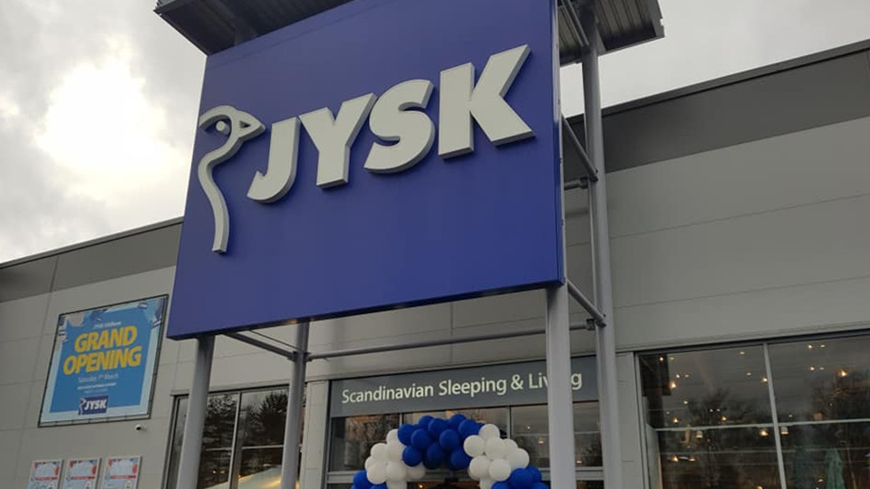JYSK re-opened its Oldham store yesterday