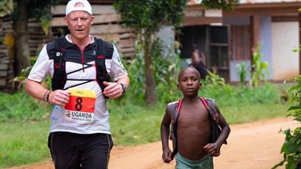 Uganda trip is postponed - so Steve vows to run another marathon around Oldham!