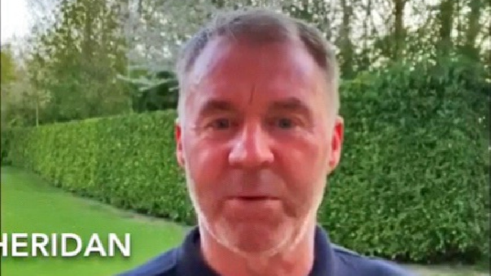 Former Latics manager John Sheridan features on one of the Push the Boundary videos