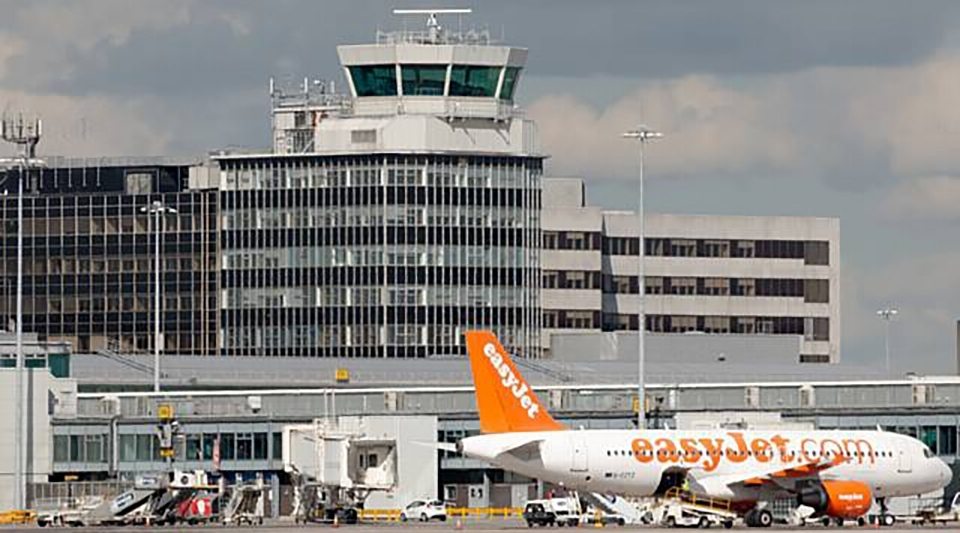 Manchester airport is the UK's third largest gateway