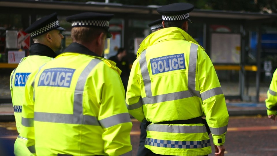 Police officers sustained minor injuries while dispersing hundreds of people from illegal raves held across Greater Manchester last weekend