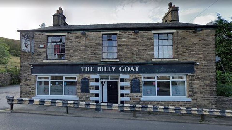 The Billy Goat pub in Mossley. Photo courtesy of Google Maps