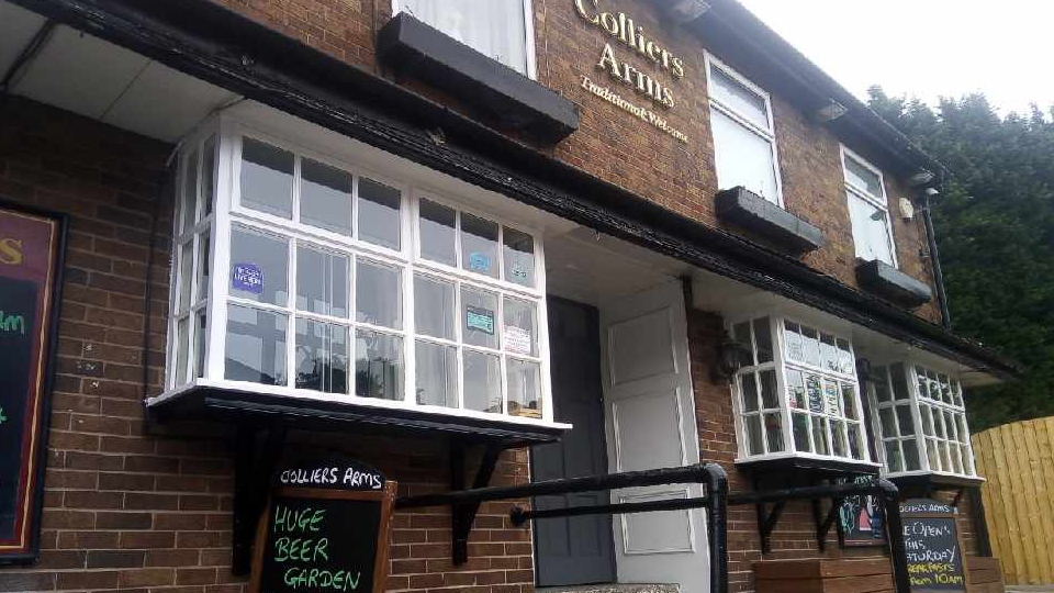 The Colliers Arms in Chadderton is almost ready for 're-opening day' on Saturday