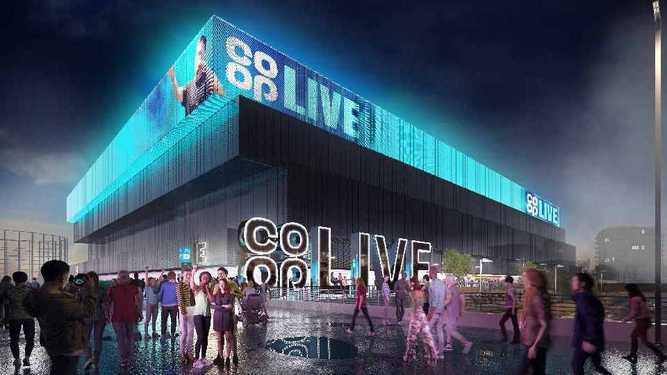 How the Co-op Live arena will look
