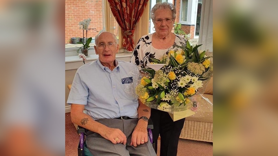 Robert and Sandra Mottram of Fitton Hill