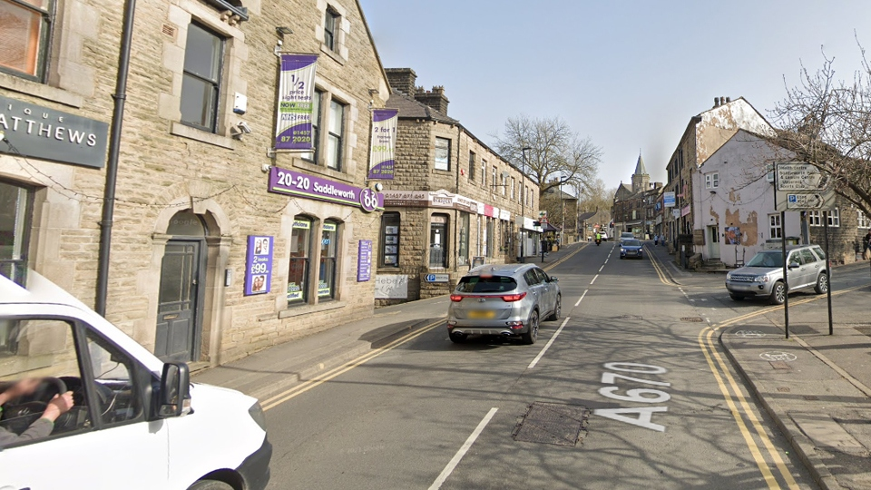 Car being chased by police hits bus and mounts pavement - Oldham Chronicle