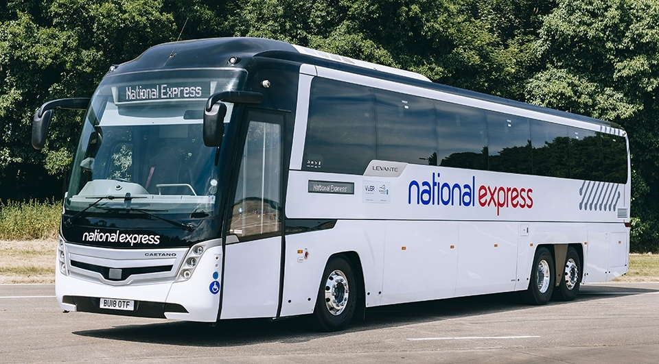 National Express are set to fully suspend its national network of scheduled coach services