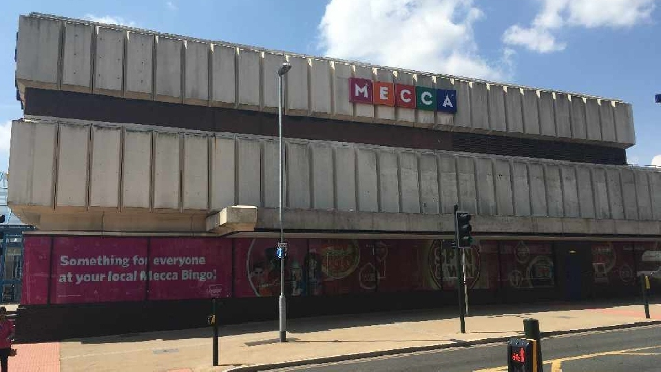 The Mecca Bingo site in Oldham