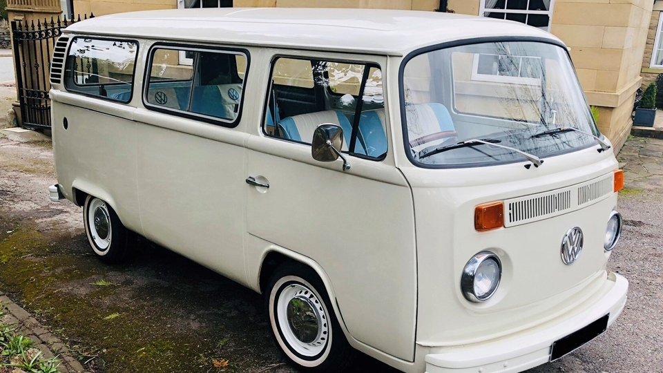 Ben's beloved 1979 VW camper van