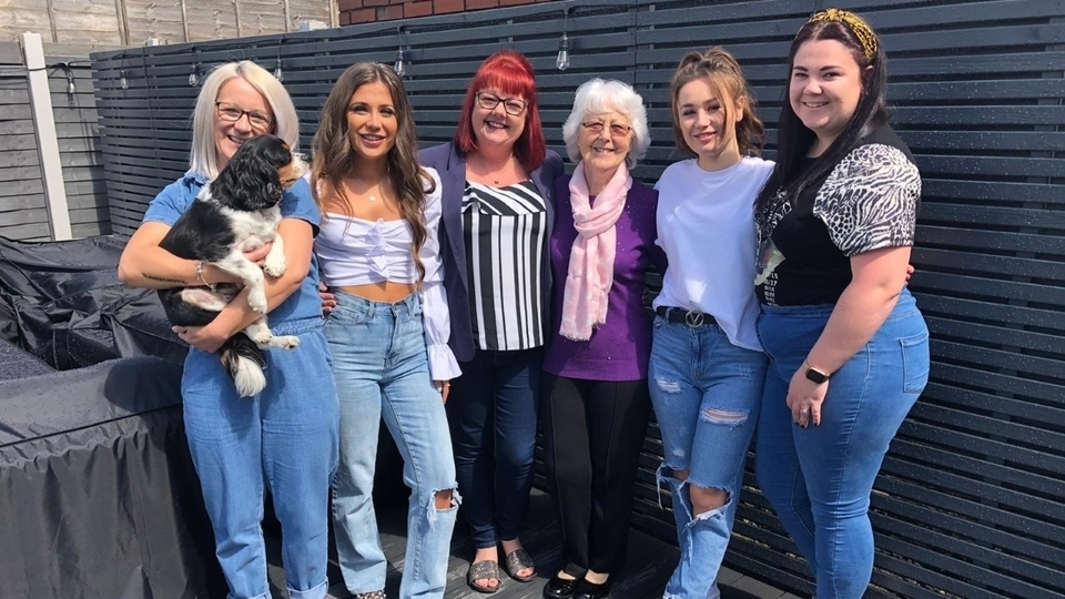 Margaret Wright has signed up the ladies in her family for the Dr Kershaw's 'Virtual Hospice Walk'