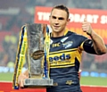 WINNER . . . RL star Kevin Sinfield