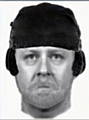 AN efit of the man police are hunting