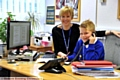 IN the hot seat at Whitegate End Primary School is Mason Pickup, taking over from head Suzanne Ashton.