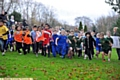 LET�S GO . . . competitors in the Years Three/Four race at the Hathershaw Sports Cluster Cross-Country Championships make a clean break from the start.
