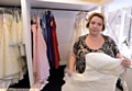 Owner Jacqui Dijon at the Bespoke Bridal Boutique in Failsworth burgled before it had even opened.