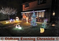 Christmas Lights Wensleydale Close Royton