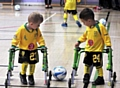 PICTURE perfect: this shot of Chadderton Park FC�s Leo Stott and Harvey Hassall has won a national competition