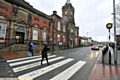 ACCIDENTS: the zebra crossing on Rochdale Road, Royton