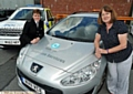 Chief Supt Caroline Ball and Councillor Barbara Brownridge with one of the first response vehicles