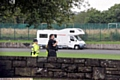 POLICE and council officials acted quickly to move travellers off the Broadway site