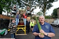 Richard Hankinson (right) and his team make final preparations for this weekend�s festival