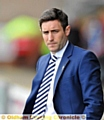 CONFIDENCE . . . Athletic manager Lee Johnson has faith in his team despite a worrying start to the season.