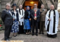 St John the Baptist Church,Hey candlelit vigil for WW1.