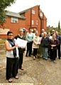 PROTEST . . . Andrea Flint, left, organised a 250-strong petition to oppose the proposed change for Yew Trees Residential Home