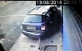 CCTV footage of the crash